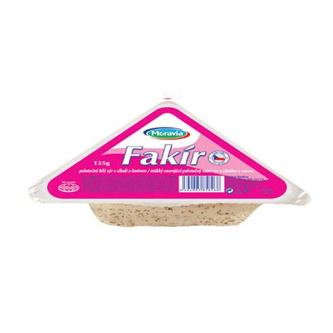 Fakír bílý sýr s cibulí a kmínem