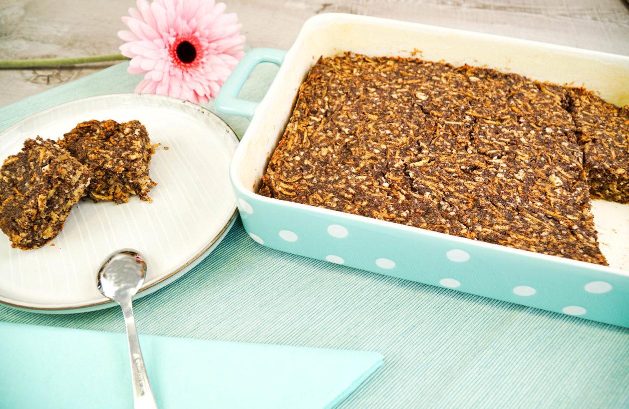Tvarohový koláč smákem ajablky