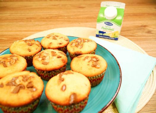 Citrónové muffiny z podmáslí upečené
