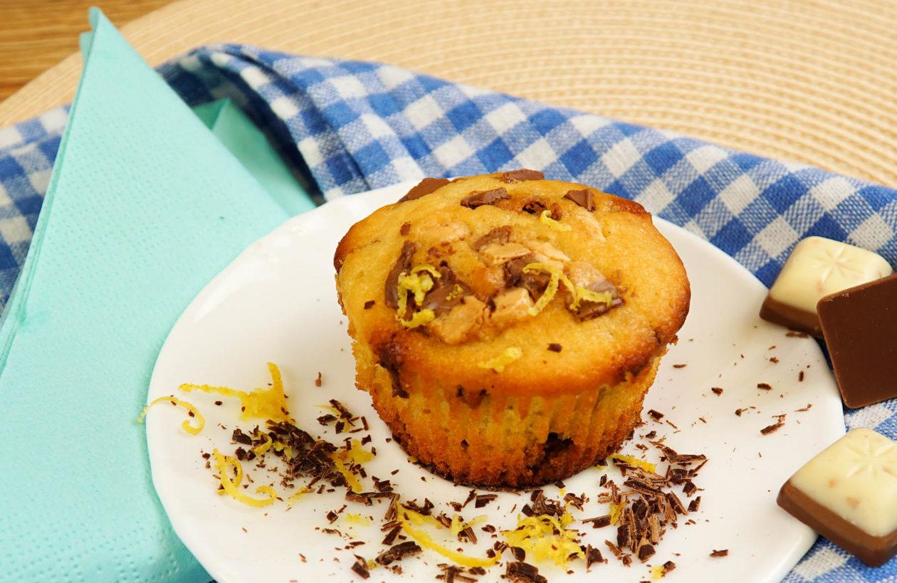 Citrónové muffiny zpodmáslí