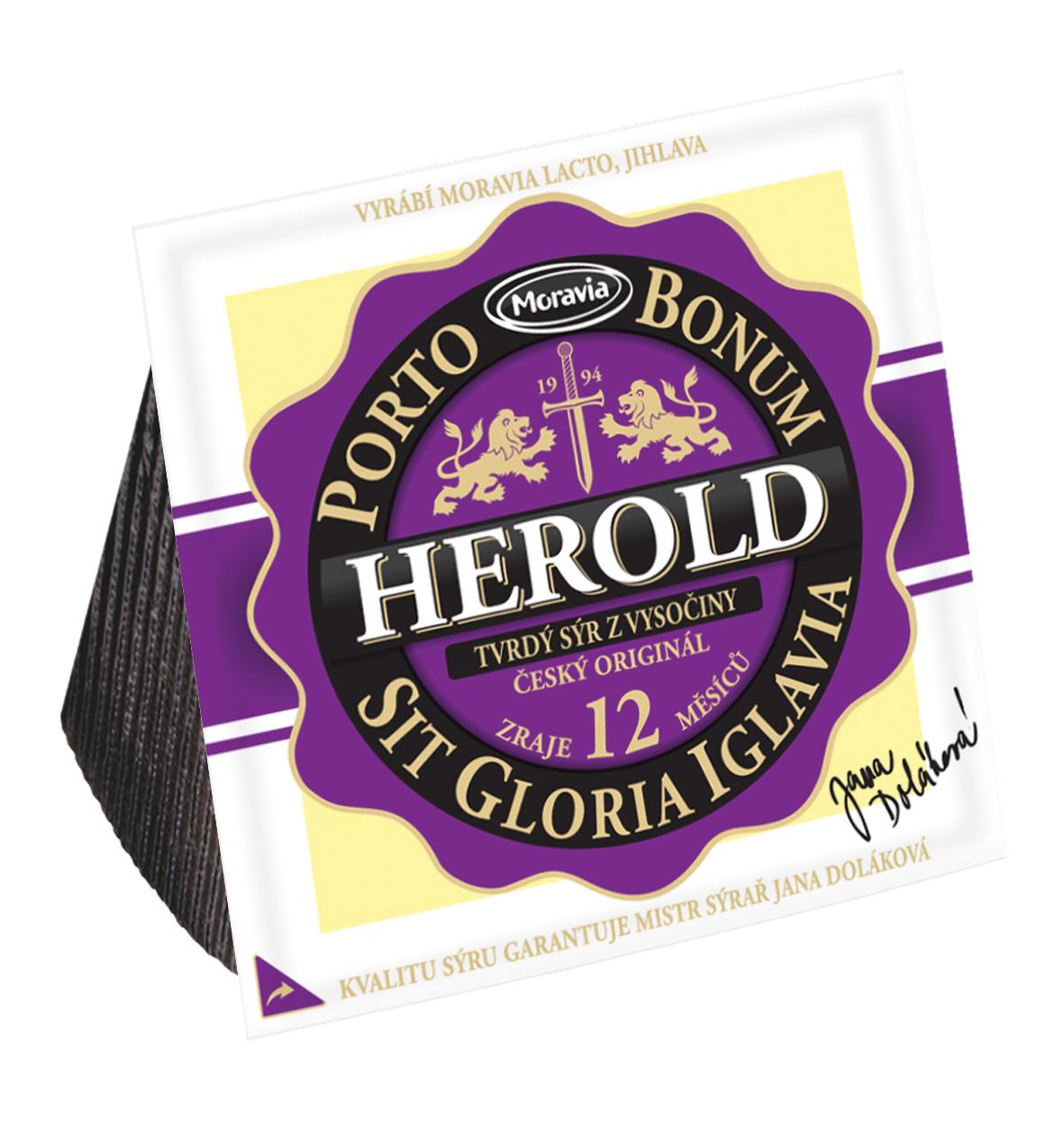 Sýr Herold 12 měsíční mlékárna Moravia