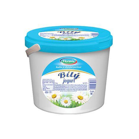 Jogurt bílý (kyblík)