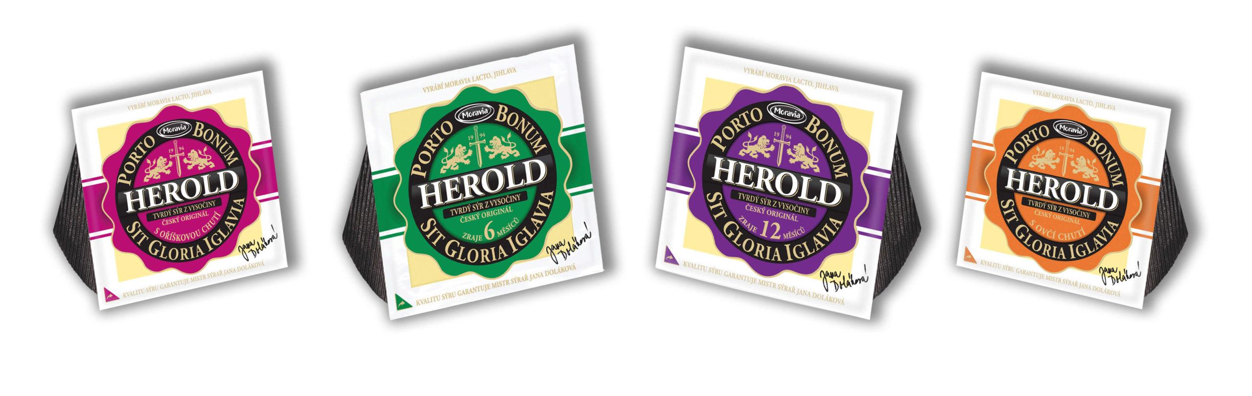 4 druhy sýru Herold