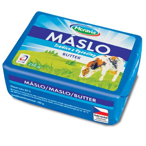 Máslo - Tradice z Vysočiny
